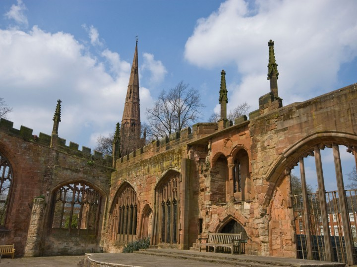 Coventry Cathedral Memorial Ruins